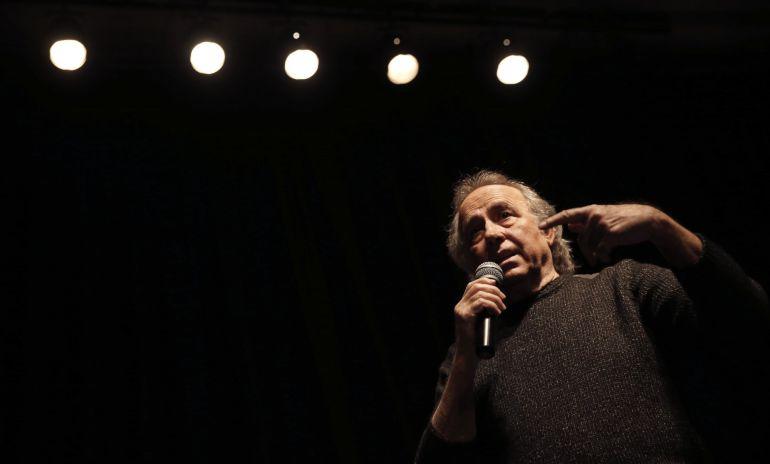 Joan Manuel Serrat durante la presentación de la gira 'Mediterráneo da capo'