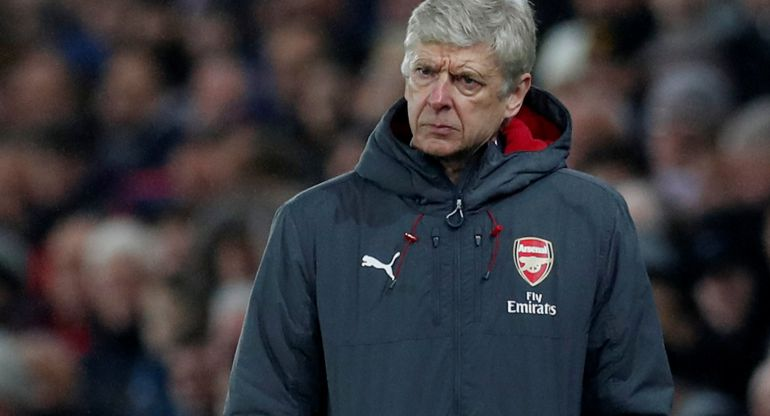 El técnico del Arsenal Arsene Wenger.
