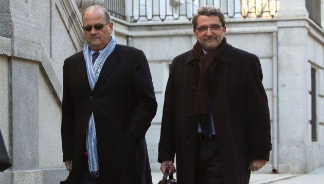 Antonio Gutiérrez Limones a su llegada al Tribunal Supremo