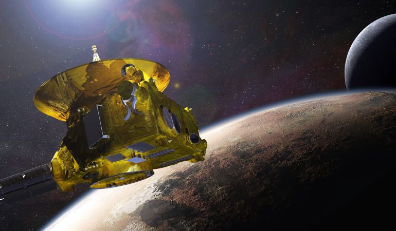 El viaje de la New Horizons.