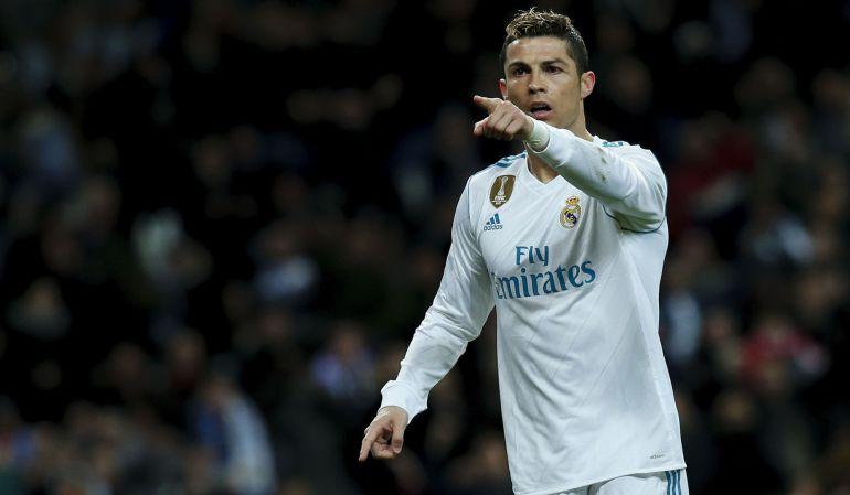 Cristiano Ronaldo, tras marcar un gol a la Real Sociedad.
