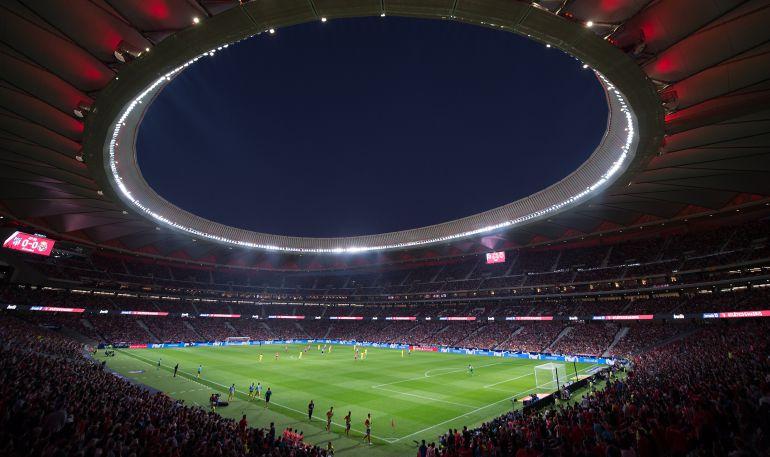 El Wanda Metropolitano será la sede de la final de la Copa del Rey.
