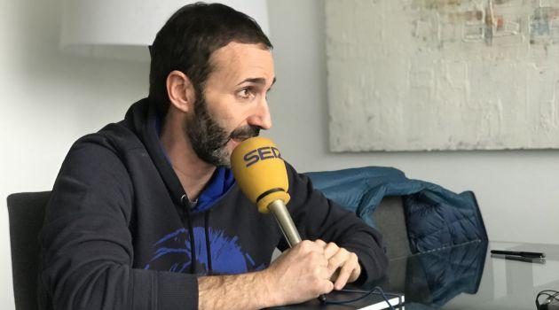Sito Alonso, durante la entrevista