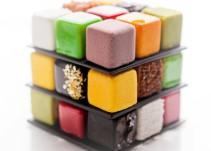 El Cubo de Rubik, a mordiscos