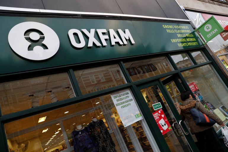 Imagen de una tienda de Oxfam en Madrid