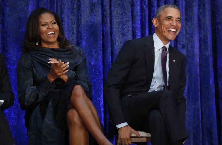 Los retratos oficiales de los Obama desatan la ironía de las redes sociales