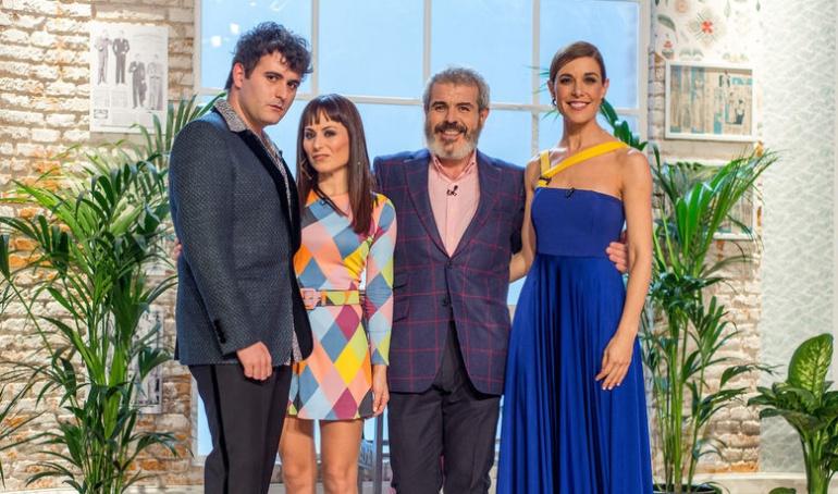Palomo Spain, María Escoté, Lorenzo Caprile y Raquel Sánchez Silva