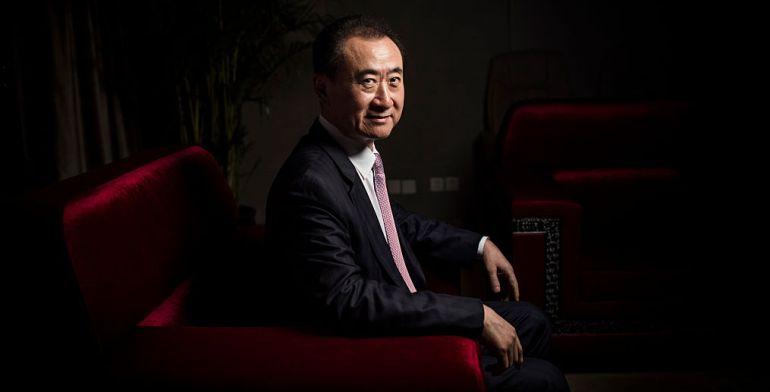 Wang Jianlin, propietario del grupo Dalian Wanda