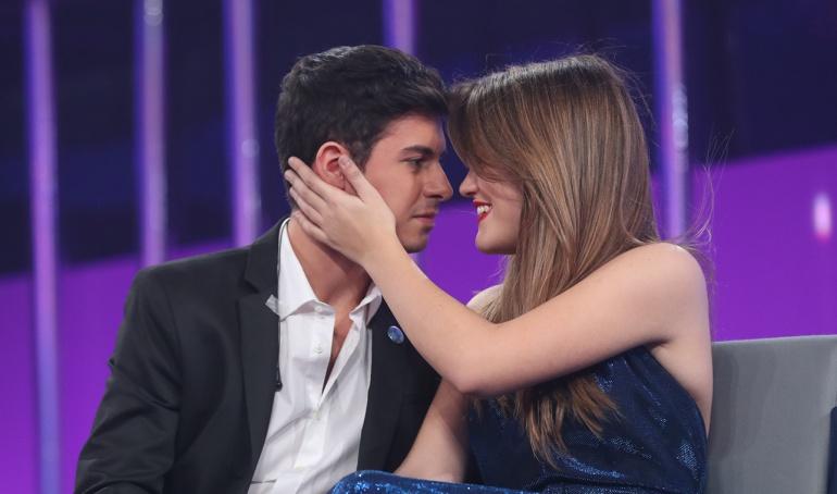 Alfred y Amaia en la última gala de 'Operación triunfo'