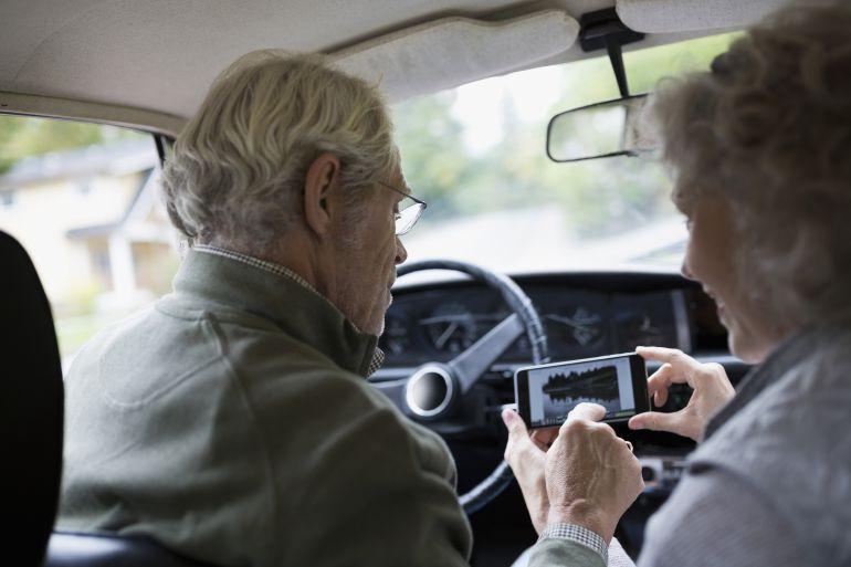 Actualmente más de tres millones de personas mayores de 65 años tienen permiso de conducir