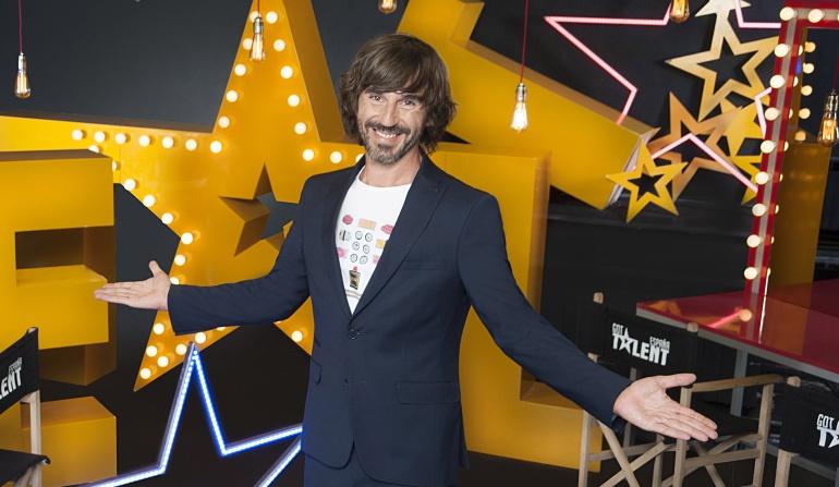 Santi Millán, presentador de 'Got Talent'