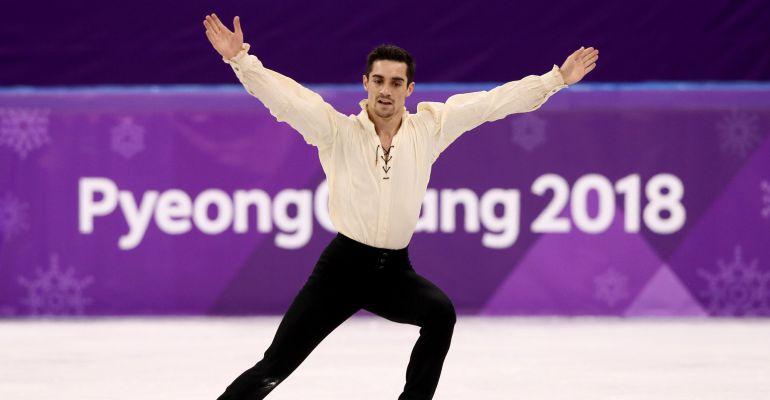 Javier Fernández hace historia al lograr el bronce en Pyeongchang