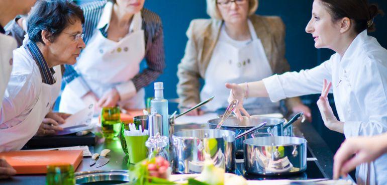 La chef Anne-Sophie Pic cuenta con siete estrellas Michelin repartidas entre Valence, París, Londres y Lausanne.