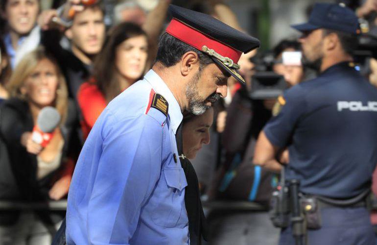 El exjefe de los Mossos d'Esquadra, Josep Lluis Trapero