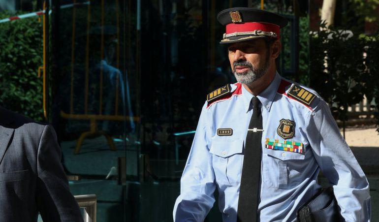 Josep Lluis Trapero, el Mayor de los Mossos.