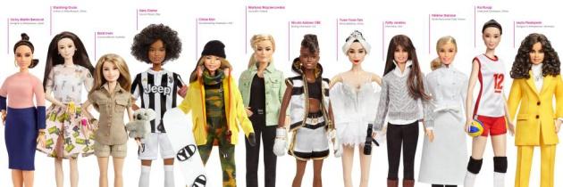 Las nuevas muñecas de la compañía.