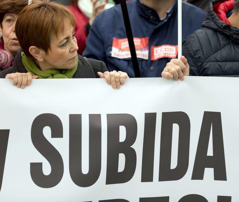 Manifestación de empleados públicos en Valladolid