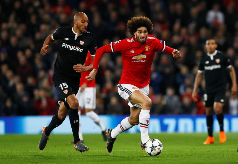 N'Zonzi persigue a Fellaini