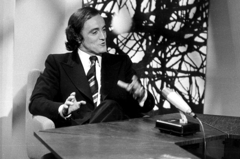 Félix Rodríguez de la Fuente en una fotografía de 1974