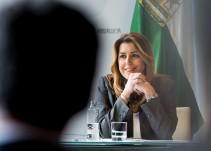 Susana Díaz tampoco se suma a la foto de unidad de Pedro Sánchez