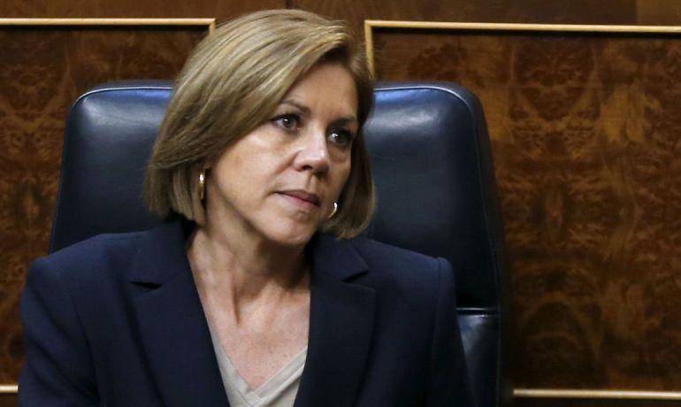 La ministra de Defensa, María Dolores de Cospedal en una fotografía de archivo