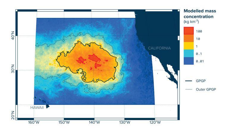 La isla de plásticos del Pacífico supera ya el tamaño de España, Francia y Alemania