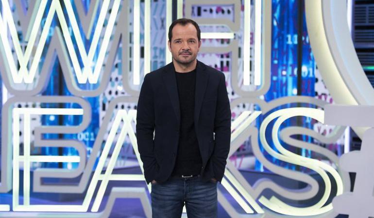 Ángel Martín, presentador de 'Wifileaks'