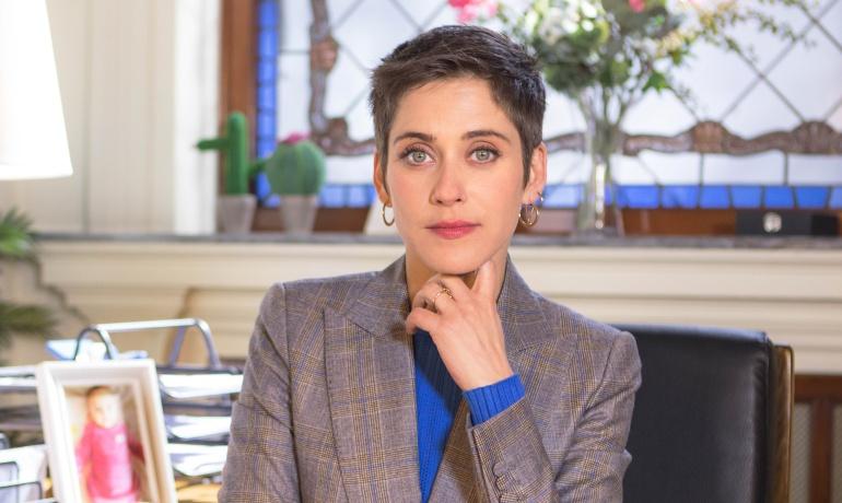 María León, protagonista de la serie 'Allí abajo'