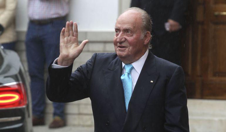 El rey Juan Carlos I en una foto de 2016.