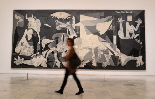 'El Guernica' en el Museo Reina Sofía