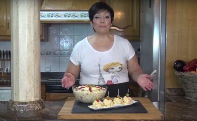 Loli Domínguez, en un vídeo reciente.