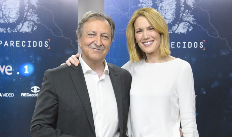 Paco Lobatón y Silvia Intxaurrondo, responsables de 'Desaparecidos'