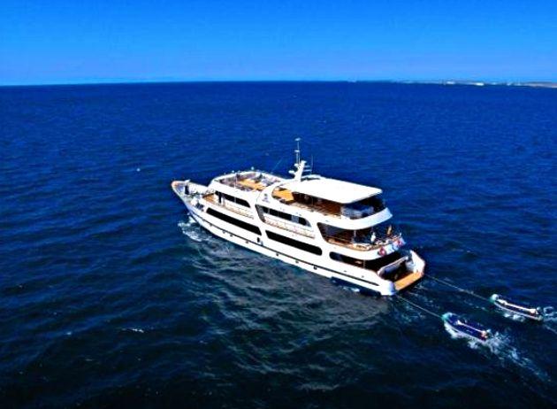 Crucero de lujo en las islas Galápagos: excursión de 6 días con un naturalista a bordo del Odyssey.