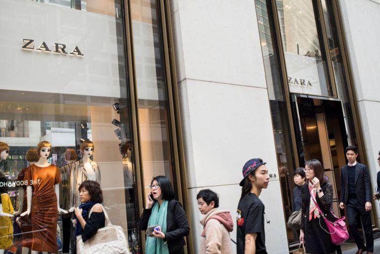 Tienda de Zara en Hong Kong.