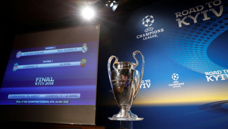 Bayern - Real Madrid y Liverpool - Roma, las semifinales de la Champions League.