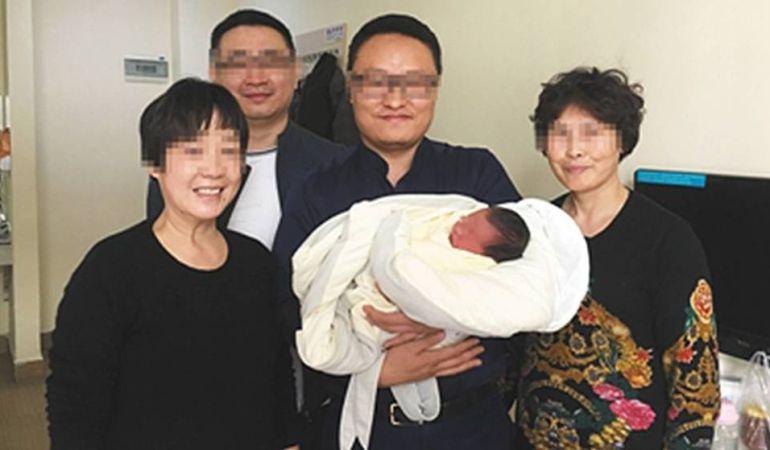 Los cuatro abuelos de Tiantian