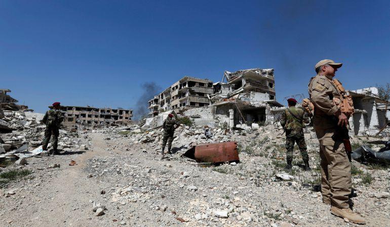 Ataque en Siria.