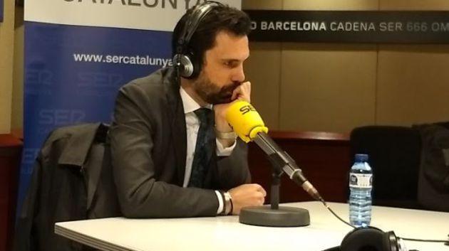 Roger Torrent hoy en SER Catalunya