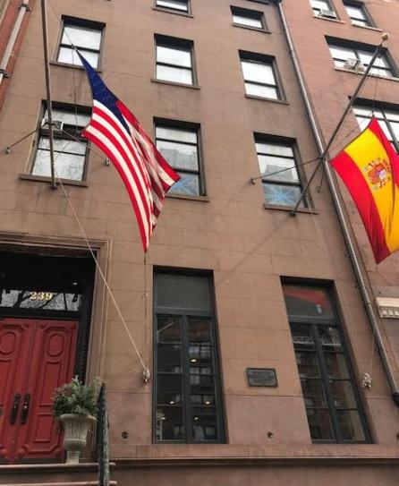 Fachada de 'La Nacional', en la calle 14ª.