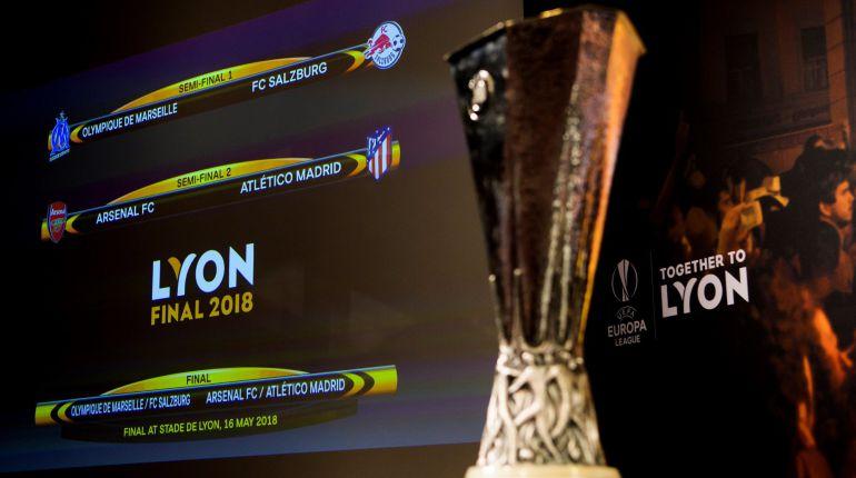 El Atlético jugará las semifinales ante el Arsenal con la ida en Londres.