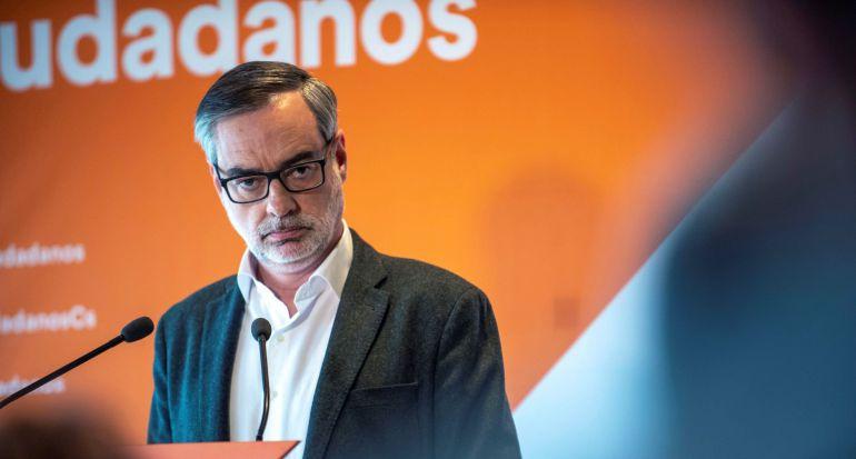 El secretario general de Ciudadanos, José Manuel Villegas, preside la reunión del Comité de Ciudadanos en Castilla-La Mancha, en Toledo