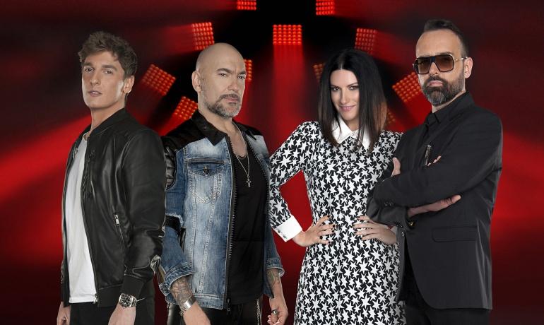 Xavi Martínez, Fernando Montesinos, Laura Pausini y Risto Mejide, jurado de 'Factor X'