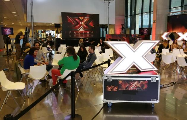 Aspirantes en las audiciones de 'Factor X'