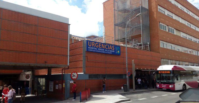 Fachada de Urgencias del Hospital Virgen de la Salud donde se encuenta Lassad