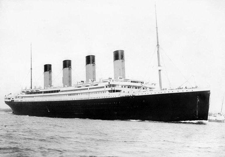 Imagen del barco Titanic.
