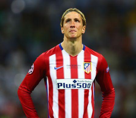 Fernando Torres, tras la final de la Champions ante el Real Madrid en Milán.