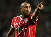 Vidal, seria duda para el partido ante el Real Madrid