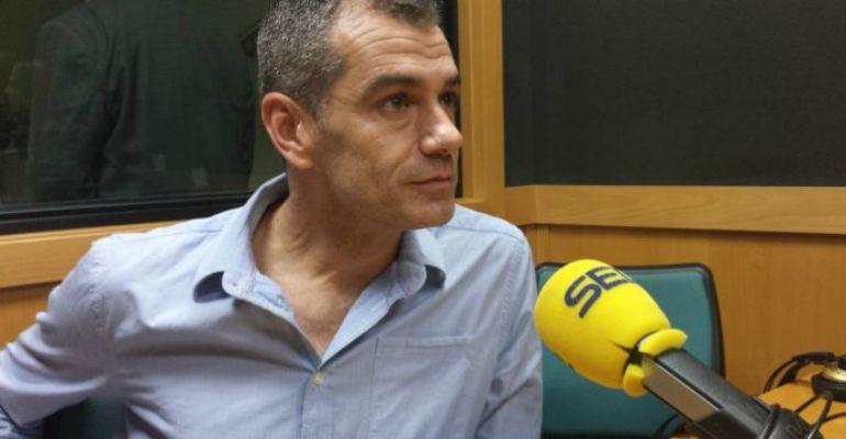 Toni Cantó, durante una entrevista con en la Cadena SER.