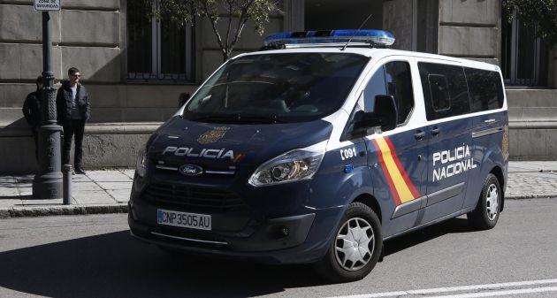 Oriol Junqueras es trasladado al Tribunal Supremo en furgón