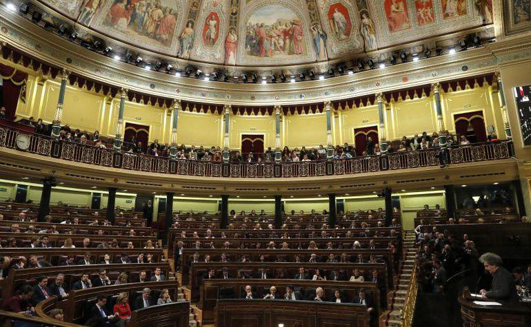 Imagen de archivo del Congreso de los DIputados